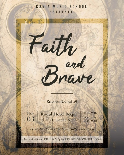 faith and brave