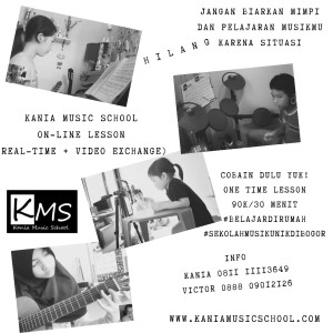 flyer KMS online lesson
